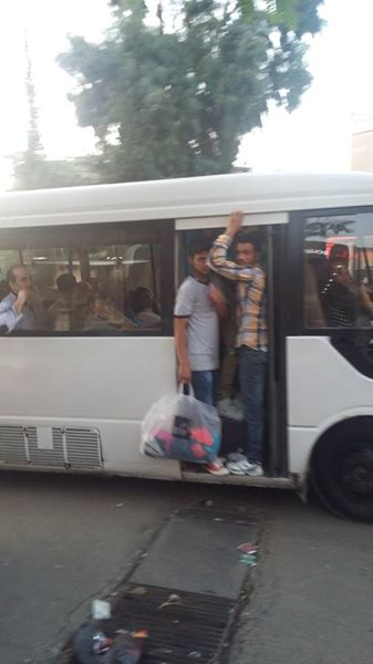 Packed Bus (Nov 2015)