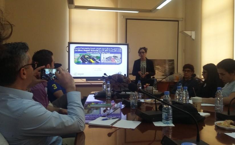 مشروع الباص السريع طبرجا-بيروت – الاجتماع الخامس في بلدية بيروت