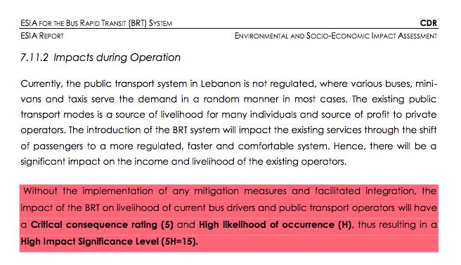 ELARD BRT Report