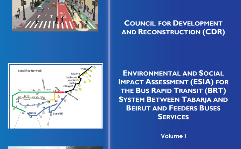 CDR's BRT Impact Report—One Step Closer to Inclusive Urbanism?