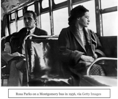 مقاطعة الحافلات في مونتغمري- تضامن الأمريكيين للمطالبة بالتغيير